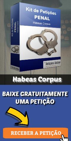 Banner – Conteúdo penal – Baixar petição grátis HC