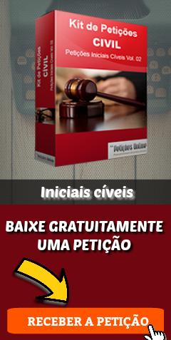 Banner – Conteúdo iniciais cíveis – Baixar petição grátis