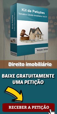 Banner – Imobiliário – Baixar petição grátis