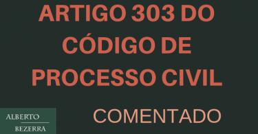 Artigo 303 do novo cpc comentado
