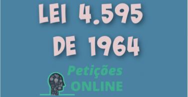 Lei 4595 de 64 atualizada